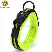 High Quality Wholesale Strong Durable Mesh Padded Nylon Pet Dog Collar