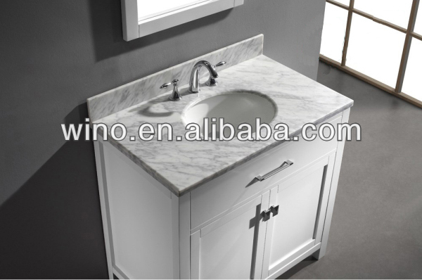Usa free standing solid wood bathroom cabinet buy free standing solid wood bathroom cabinet Bathroom cabinets made in usa