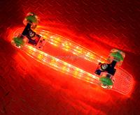 "22"" & 27"" Electric skate board plastic skateboard cruiser skateboard"