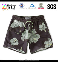 2015 Fashionable Hawaii Flower Quick Dry Nylon Taslon Men's Shorts