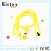 Light-weighted Shoelace Earphone Sport in ear Headphone Shoelace Style