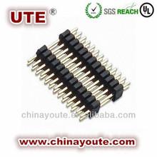1.0mm Pin Header, Single/Dual Row, Dual Body, Straight