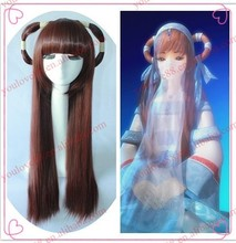 Classic Chinese long straight blown Princess wig, cosplay wig, party wig