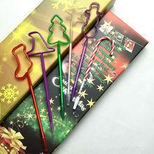 2015 new design christmas shape ball pen