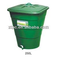 250L garden plastic water bucket