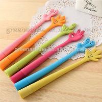 advertising finger bendable / flexible ball pen