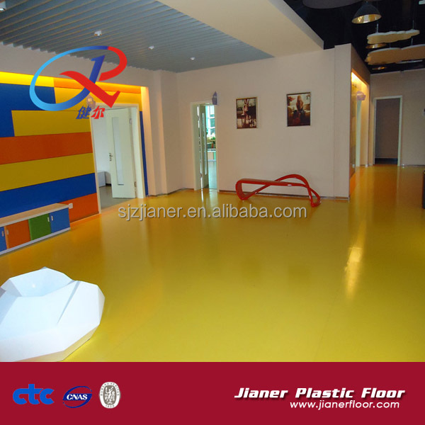 Children indoor playground flooring