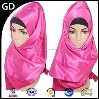 GDH0060 Colour and lustre is bright ladies fashion plaid scarf pashmina custom silk scarf