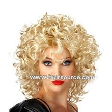 Alibaba Cheap price synthetic wig Ally golden color wig for white women
