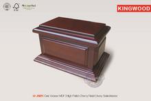 U-JS01 wooden urns cremation urn most popular wood furniture