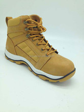 high ankle canvas shoes high ankle shoes men/wide steel toe cap safety shoes