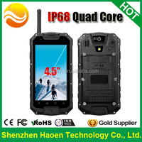 Factory Price of Rugged phones with MT6589 Quad core IP68 Waterproof cellpones Android 4.2 3G GPS Tough Mobile Phones