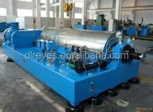 Full automatic industrial used horizontal style sedimentation centrifuge machine