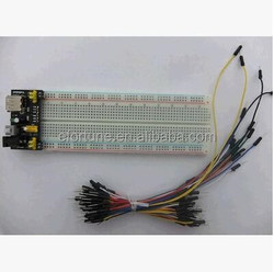 MB102 breadboard + power supply + 65pcs jumper wires