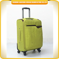 Hot Sale Fashion Style Soft Nylon Travel Trolley Luggage for 2015 Cheap Luggage Distributors