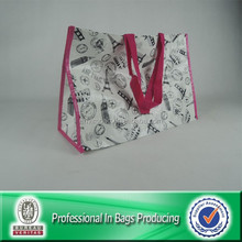 Custom Recycled Laminated PP Woven Eco Shopping Bag