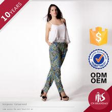 custom lady long shirts trousers for women