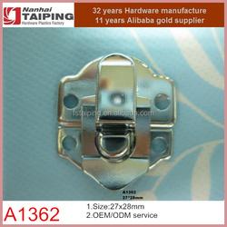 decorative lock for gift box jewelry box, metal hasp lock latch catch clamp