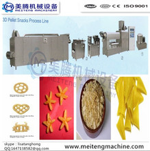 2. Fried Potato Pellets Snacks Processing Machines/Plant