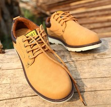 d60374h 2015 autumn new fashion retro casual men's leather shoes single shoes