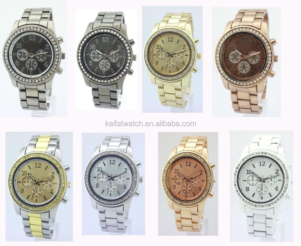 Manufacture wholesale fashion lady wrist alloy watch women watches mk