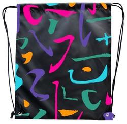 Alibaba Online Shopping Cotton Festival Drawstring Bag