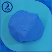 Medical nonwoven disposable surgical bouffant cap /strip hat/surgical lead cap