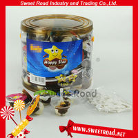 Happy Star Chocolate with Sweet Biscuit Cup