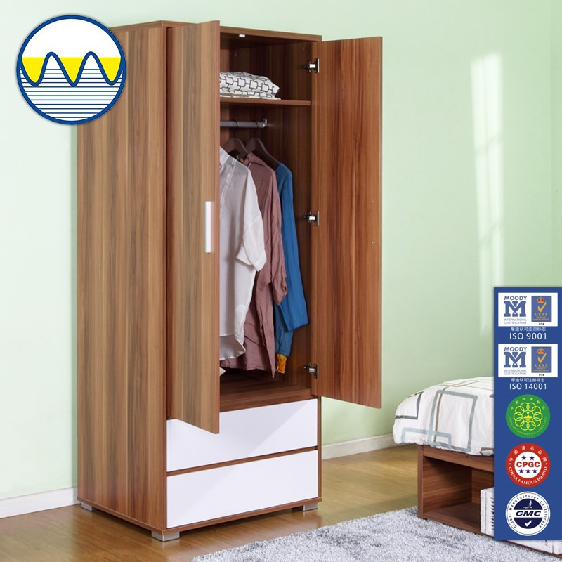 Modern Cheap Wooden Clothes Wardrobe Design Wooden Furniture Clothes Cabinets Bedroom Closet