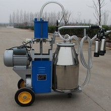 portable milking machine for cows