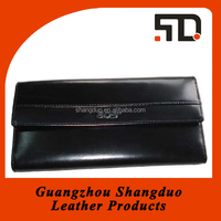 Guangzhou Manufacture Low Price Leather Long Wallet Card Holder