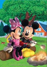 Pato Donald e mickey mouse bem a impressão 3d dos desenhos animados imagem animal