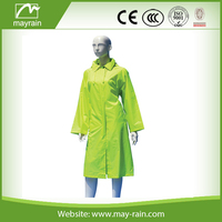 polyester trench coat for women