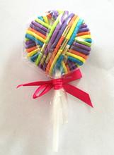 Colorful hair band Lollipop hair elastic, lollipop hair accessories