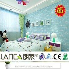 animal non woven wall papers for kids new paper for kid room design