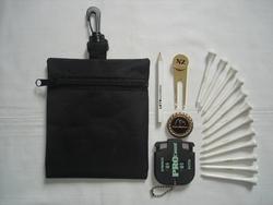Nylon golf accessory bag