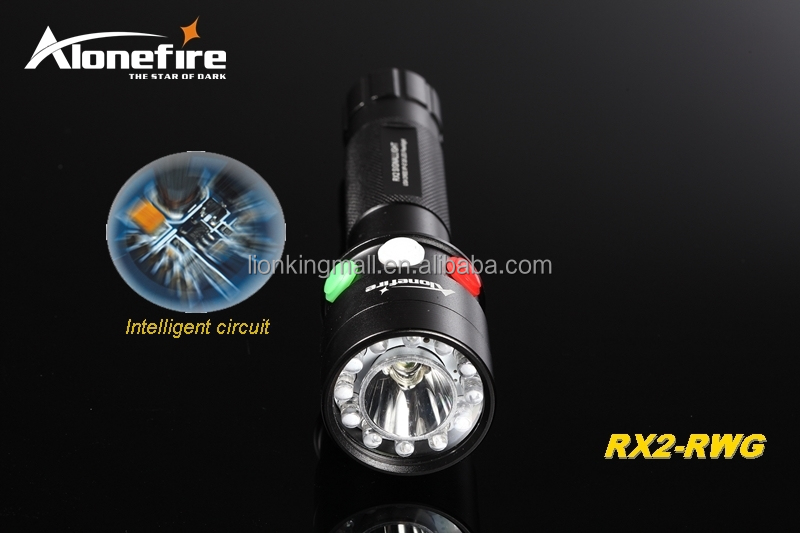 Alonefire Rx2 Rwg Cree Xpe Q5 Led Rouge Blanc Vert De