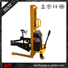 china oil drum lifter semi electric oil drum truck forklift for sale
