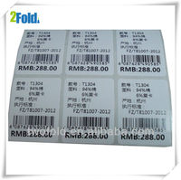 Clothes Barcode Label