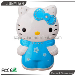 Factory Wholesale Hello Kitty phone backup battery 7800 mAh