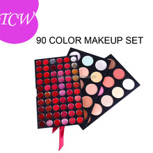 Makeup set Eyeshadows, blush, lip gloss, foundation and more