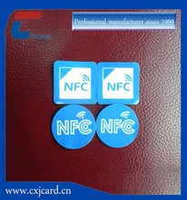 Latest technology em4001nfc tag apply for Convenient people management