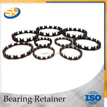 Nylon and plastic bearing cages