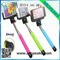 Extendable Handled Stick wholesale monopod with cell phone clamp