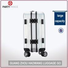 PC trolley luggage sets Aluminum sash Polycarbonate suitcase