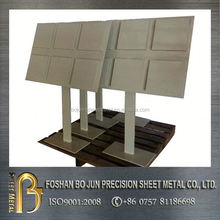custom-made floor standing powder coat rack sheet metal manufacture