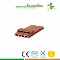 cheap construction outdoor wpc wood plastic composit decking flooring