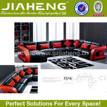 Latest modern fashion lounge removable cover corner sofa