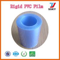 China supplier clear thin super clear plastic pvc sheet in rolls