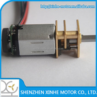 long lifetime 300HOURS N20 mini gear motor with gearbox